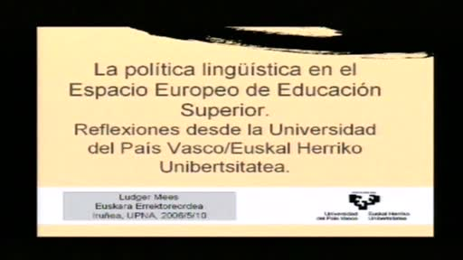 La pol tica ling stica en el espacio europeo de educaci n for Universidad cocina pais vasco